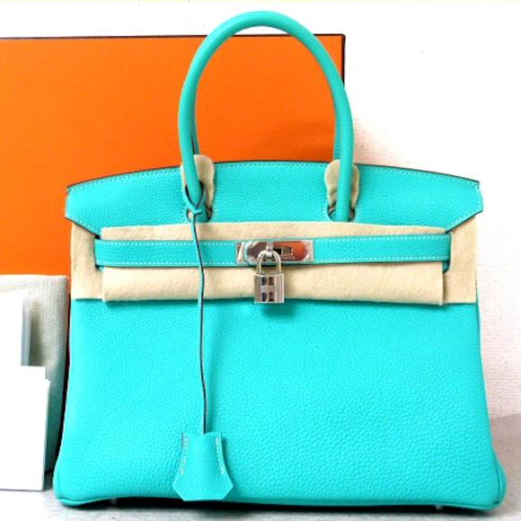 07a42c870344 ... best price hermes birkin lagoon 30 breathetaking color d27f9 ee660